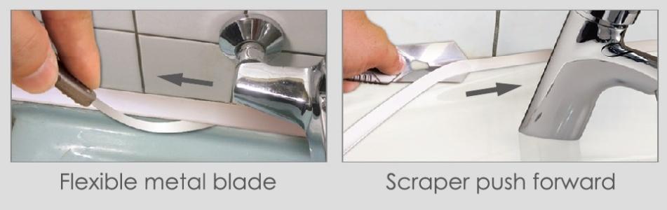 Silicone Metal Scraper