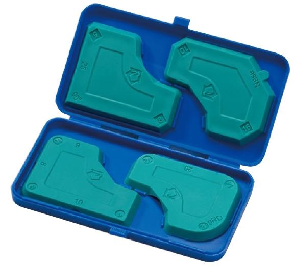 Handy Screeding Pads Set W/ plastic case